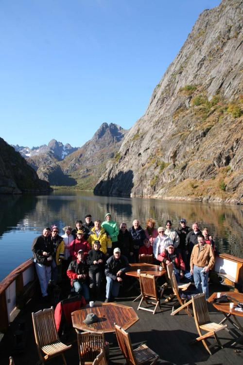 Der Trolljford war das Ziel unserer Bootstour